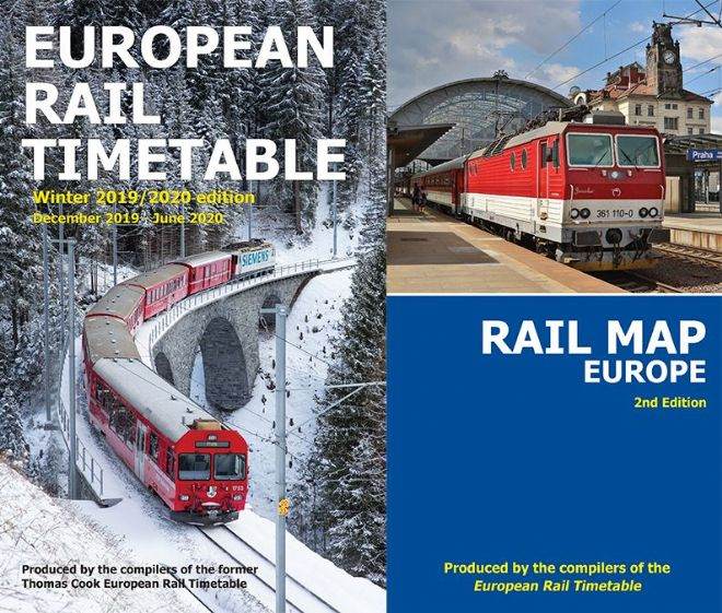 Winter 2019/2020 & <br> Rail Map Europe BUNDLE